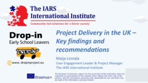thumbnail of IARS Project Delivery in the UK Key findings and recommendations DROP IN presentation